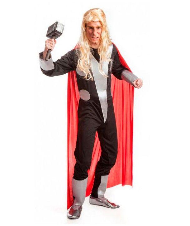 Disfraz de Thor para Adulto Espectacular disfraz del Príncipe de Thor para…