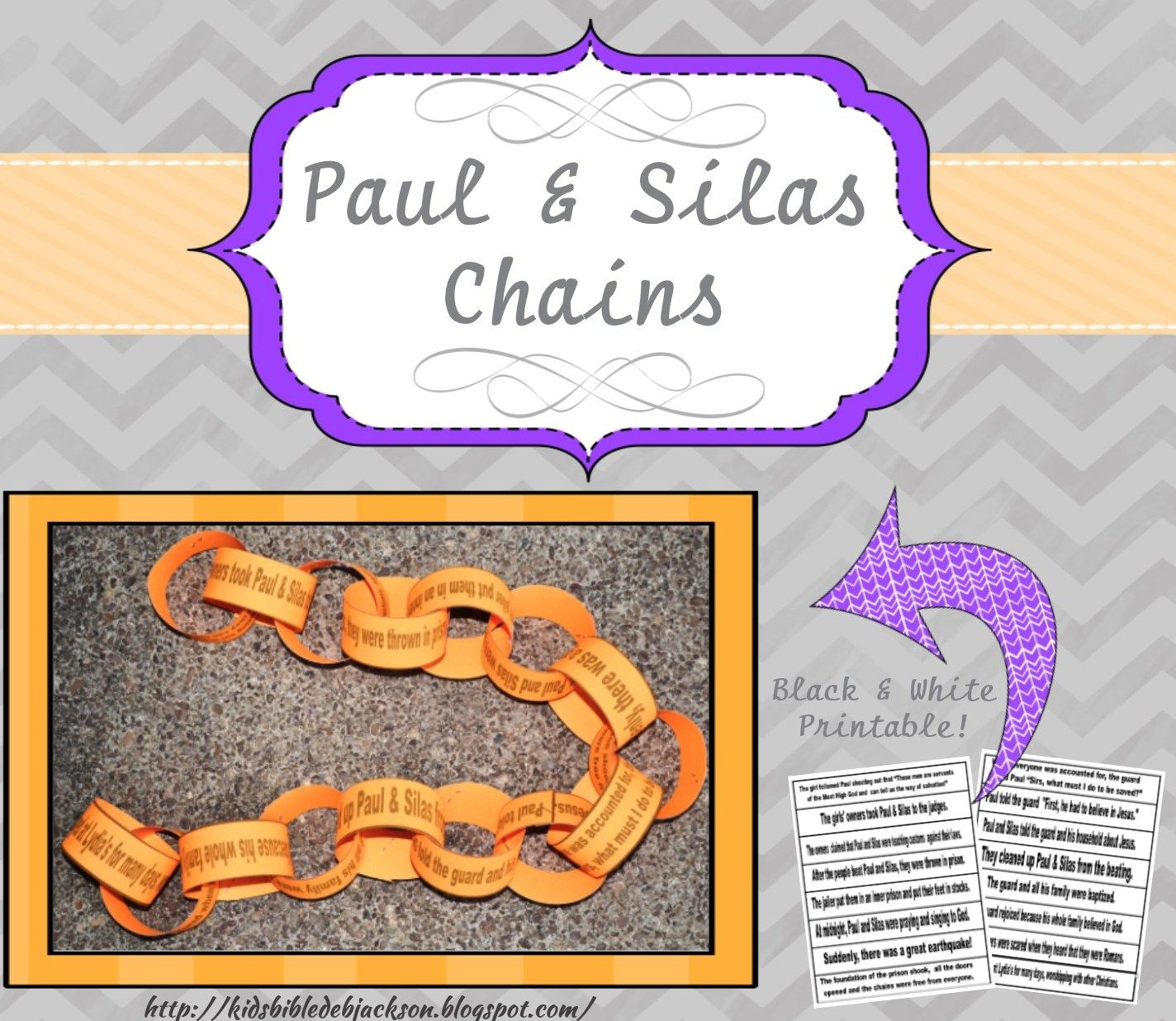 "Paul and Silas Snack ""Prison Bars and Music Notes"" From the Bible"
