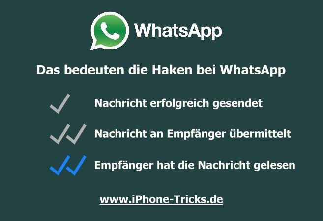 Deaktivieren whatsapp lesebestätigung nachträglich Iphone lesebestätigung