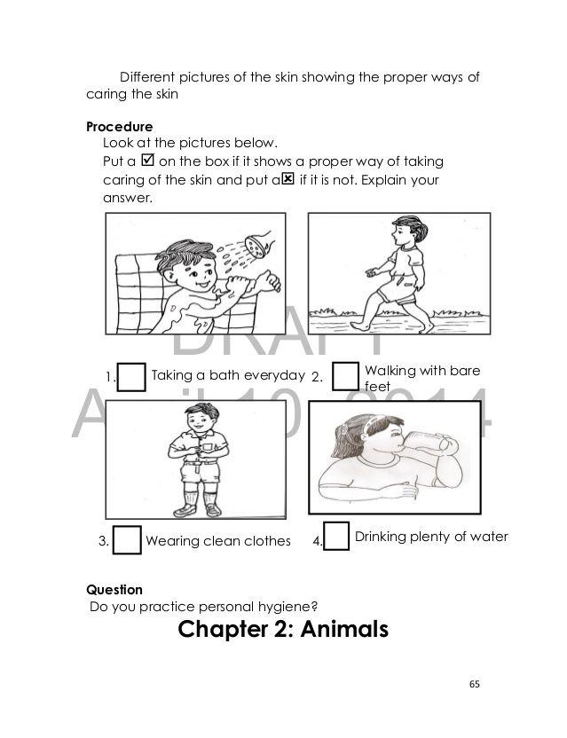 proper ways to keep self clean worksheet google search education pinterest worksheets. Black Bedroom Furniture Sets. Home Design Ideas
