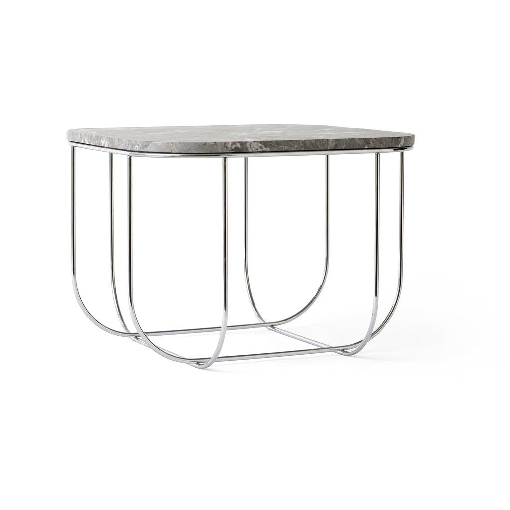 Menu Cage Table Horne Cage Table Side Table Marble Top Side Table
