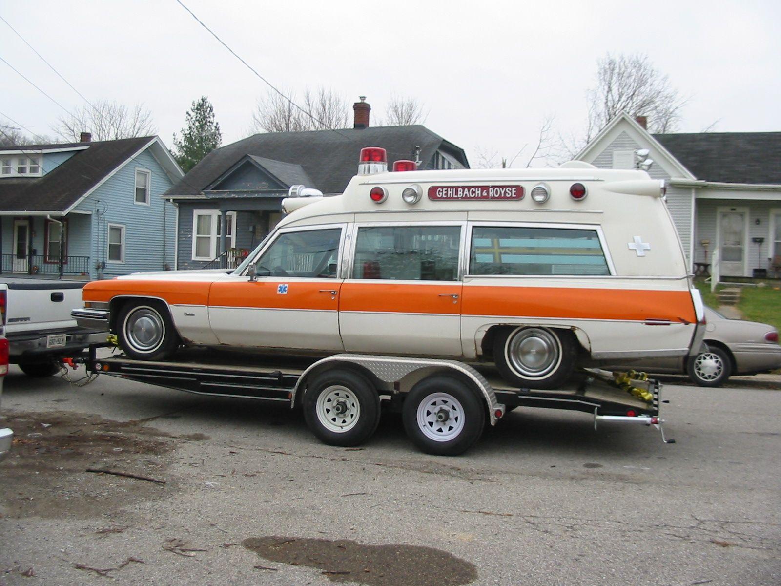 Cadillac Ambulance | Cadillac | Pinterest | Ambulance, Cadillac ...