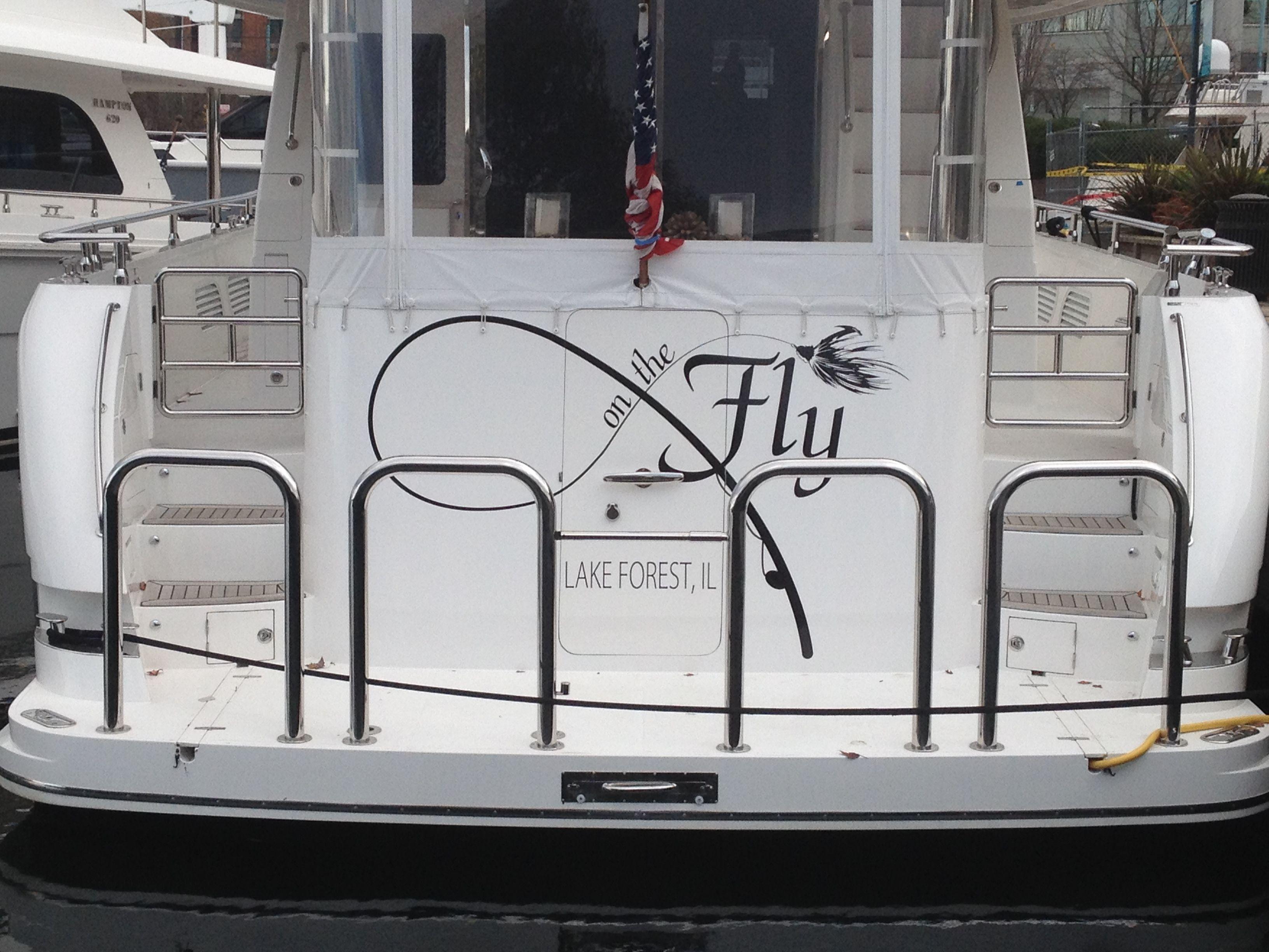 On The Fly #boatname #lakeforrest #illinois