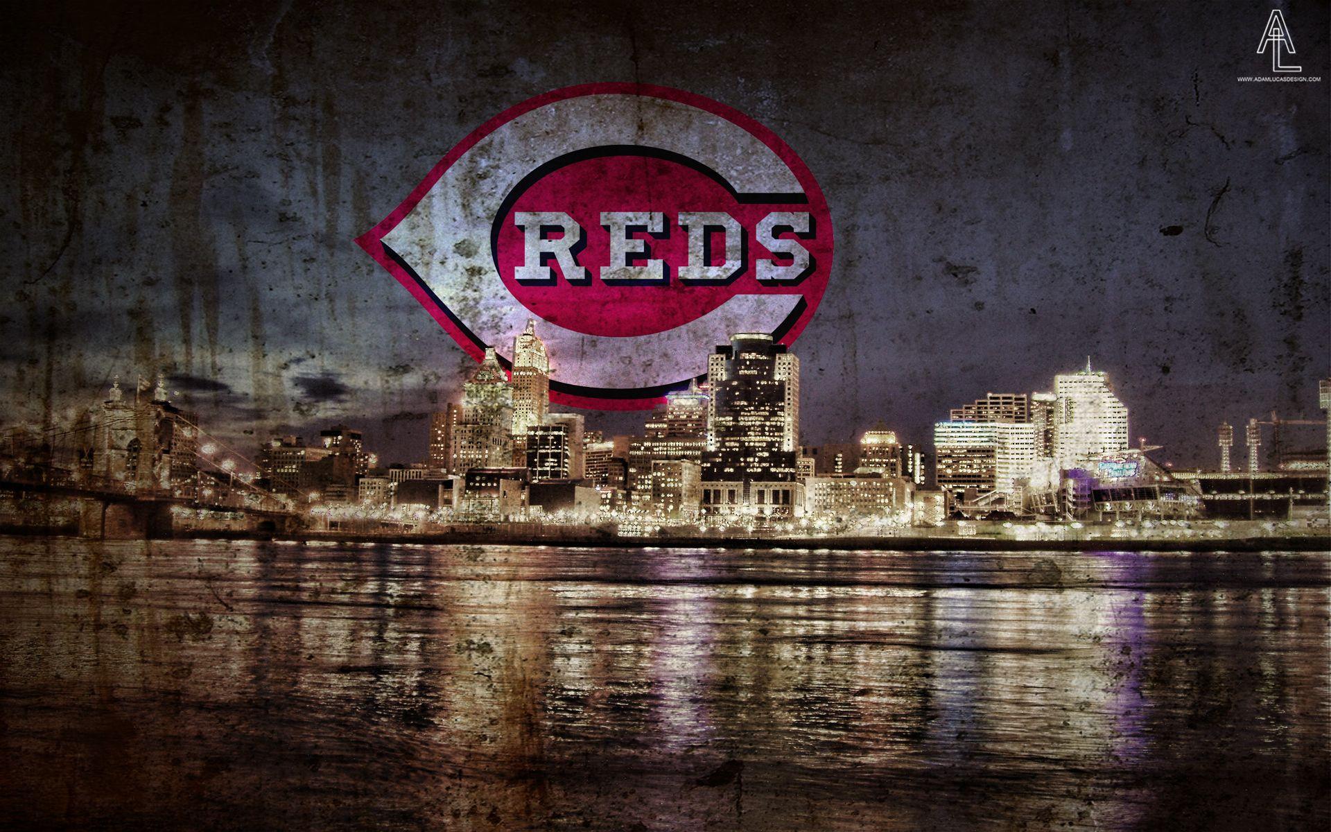 Cincinnati Reds Desktop Wallpaper Mlb Wallpaper Cincinnati Reds Red Wallpaper