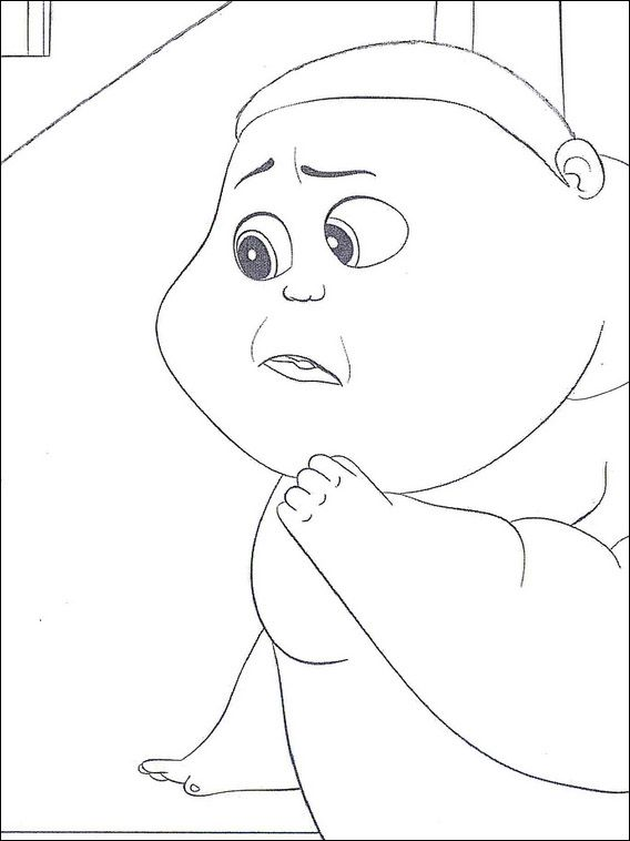 Boss Baby Coloring Pages 31