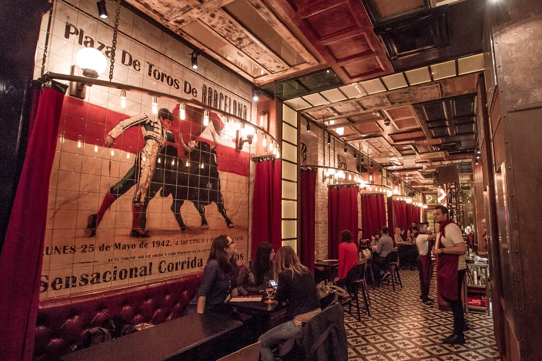 Vicky Barcelona Tapas Bar Opens In Budapest Restaurant Entrance Tapas Bar Budapest