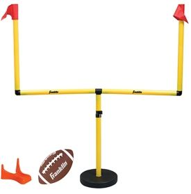 Backyard football wouldn't be complete without the goal ...
