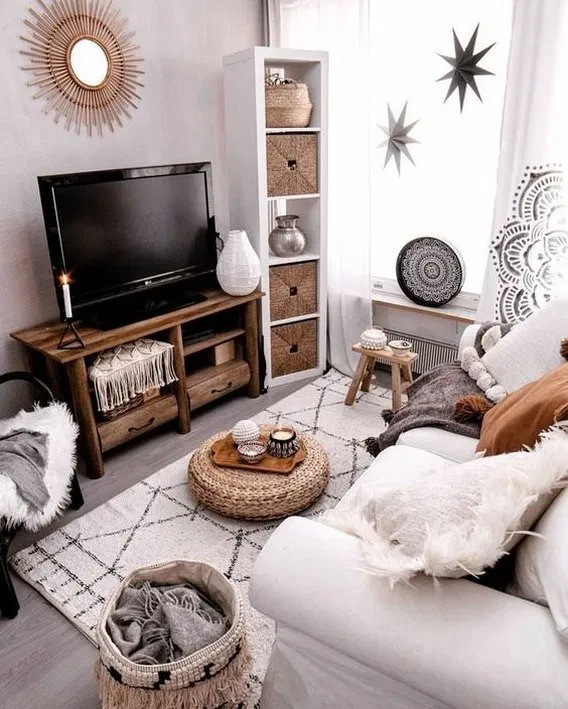 70 Cozy Elegant Small Living Room Decor Ideas On A Budget 6 In 2020 Living Room Decor Neutral Apartment Living