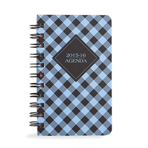 Vera Bradley 2016 Mini Agenda in Alpine Check - http://bags.bloggor.org/vera-bradley-2016-mini-agenda-in-alpine-check/