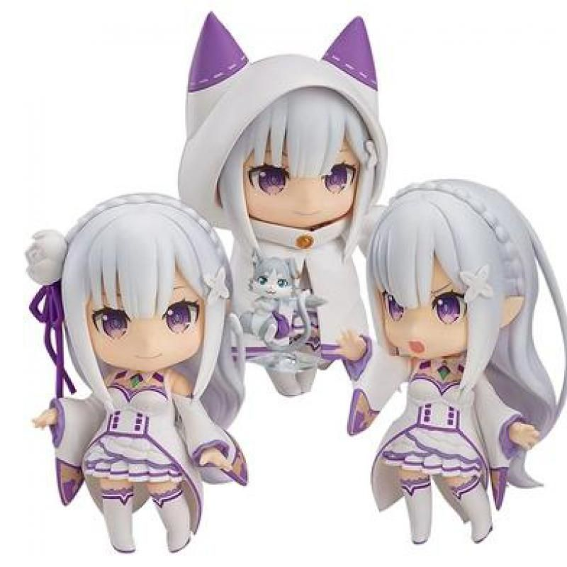Anime Re:Life in a different world from zero Emilia PVC Action Figure no Box