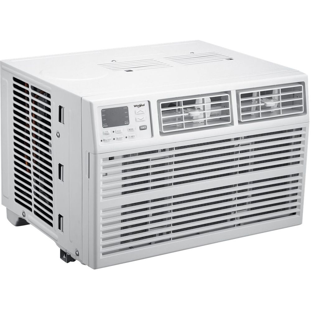 Whirlpool 350 Sq Ft Window Air Conditioner White Window Air Conditioner Air Conditioner Air Conditioner With Heater