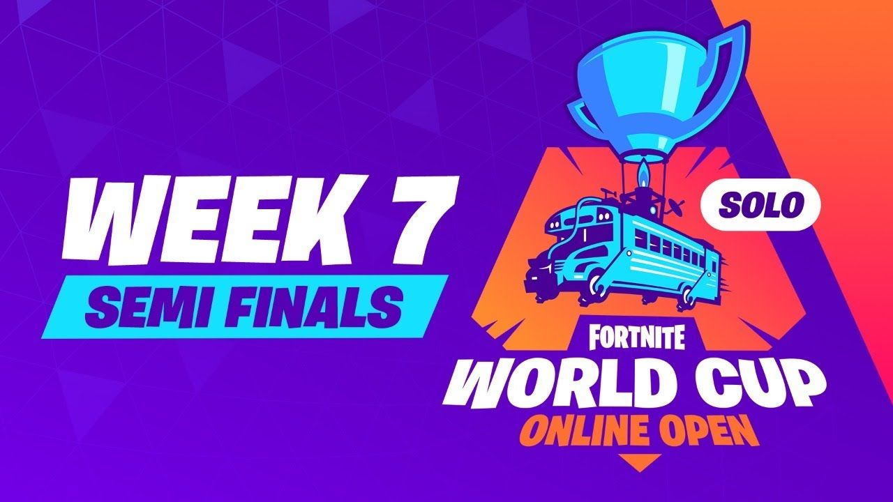 Fortnite World Cup Week 7 Semi Finals Fortnite Epic Games World Cup
