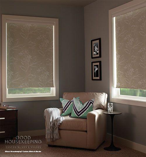 Good Housekeeping™ Roller Shades: Room Darkening | Bedroom windows ...