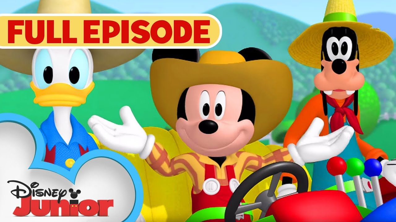 Mickey And Donald Have A Farm Full Episode Mickey Mouse Clubhouse Disney Junior Youtube Mickey Mouse Clubhouse Mickey Mouse Tattoos Mickey Mouse