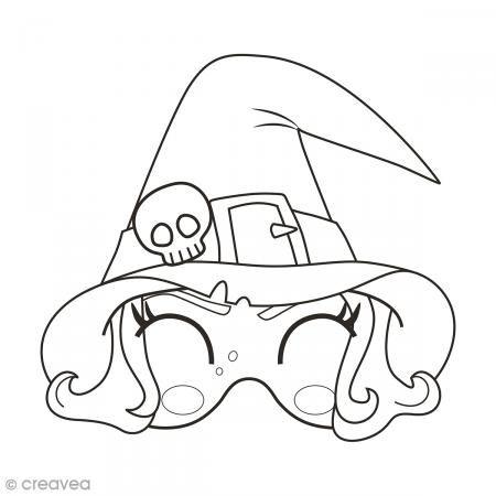 Masques A Colorier Et Decouper Halloween 24 Pages Masque A Colorier Coloriage Masque Coloriage Halloween Masque Halloween A Imprimer