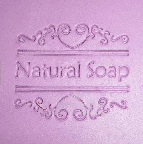 Mini Lacy Soap Stamp Nature Soap Stamp Polyer Clay Mold Flower Resin Mold Handmade Soap Stamp