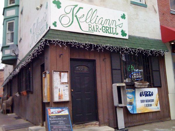 1st legal time in a bar. Kelliann's in Philadelphia