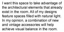 how to write an interior design concept statement - Interior Design Concept Statement