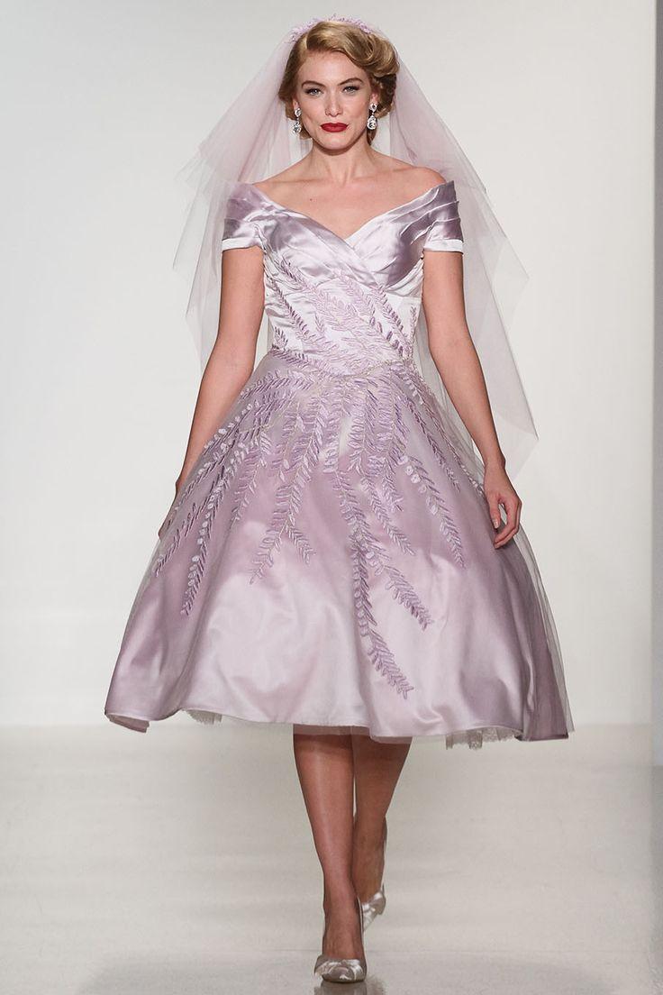 20 Chic 1950s Inspired Wedding Dresses | Pinterest | 1950s, Matthew ...