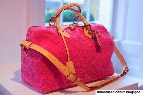 Pink color ladies bag fashion inspiration