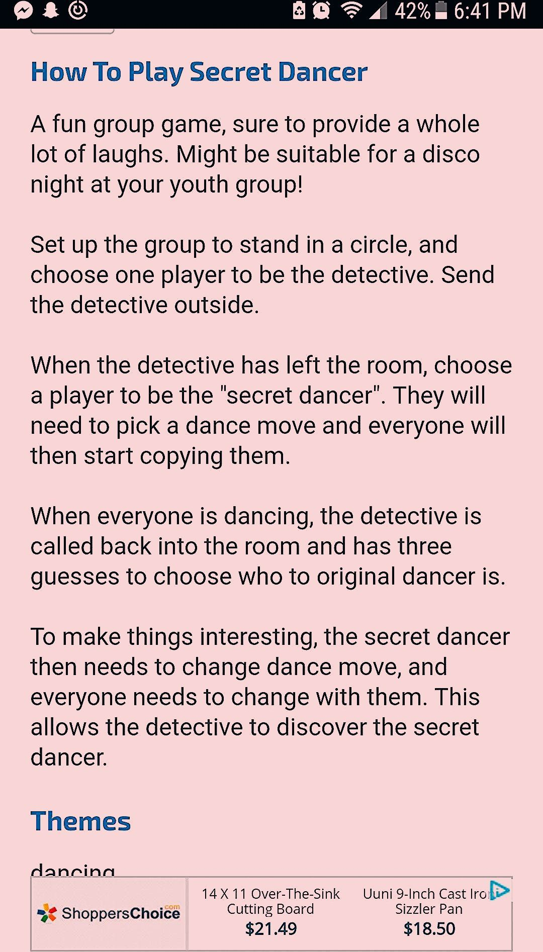 Party Games Group