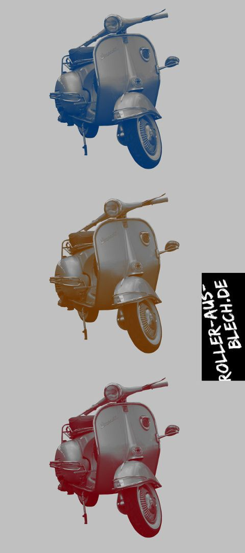 vespa classic art and design by. Black Bedroom Furniture Sets. Home Design Ideas