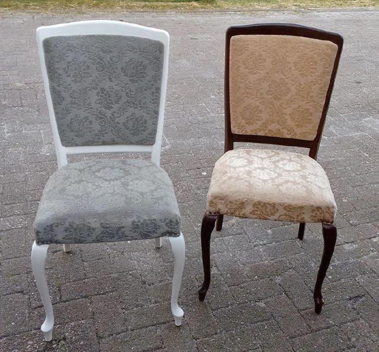Hoe ga je te werk als je een stoffen stoel wilt verven met Annie ...