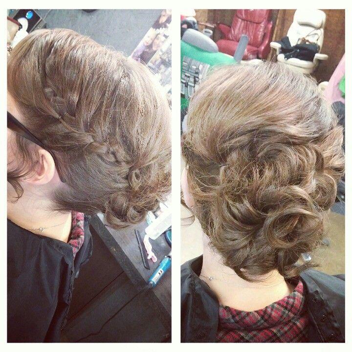 Hair, Updo with a Braid