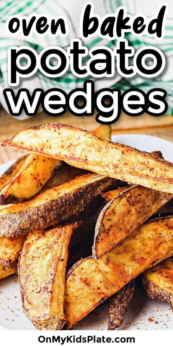 Oven Baked Potato Wedges (Cripsy!)