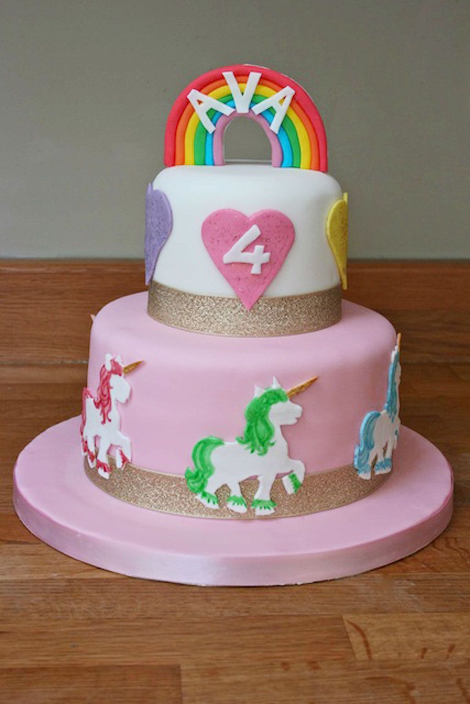 Unicornbirthdaycakeideas Party ideas Pinterest Unicorn