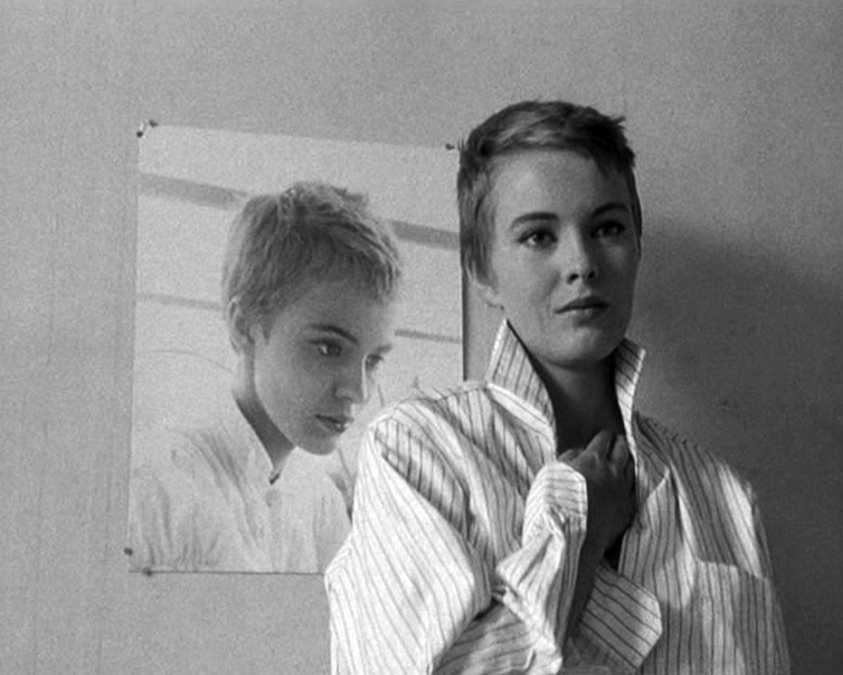 Jean Seberg - Fino all'ultimo respiro (À bout de souffle) film del 1960 scritto e diretto da Jean-Luc Godard   Jean seberg, Icone di stile, Attrice
