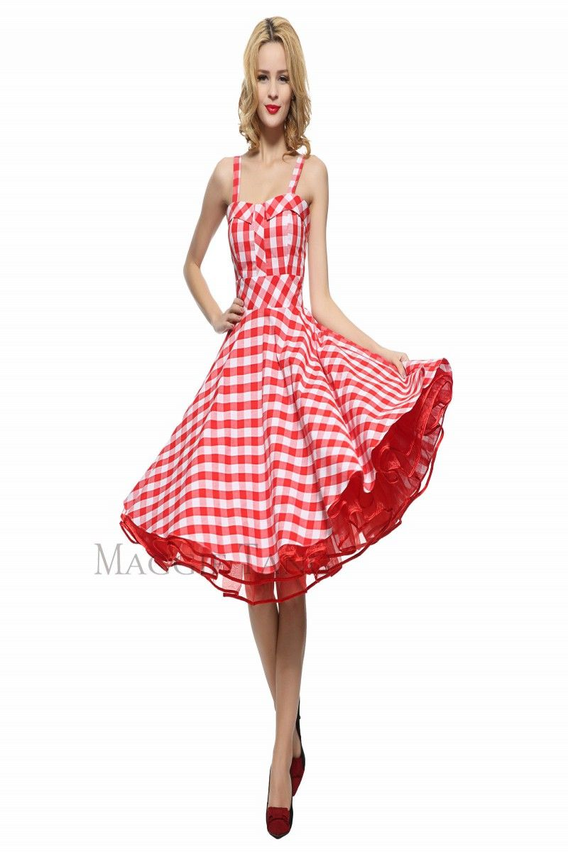 2c1c166e0cee 16.98 | Maggie Tang 50s VTG Hepburn Rockabilly Polka Dots Pinup Party Swing  Dress R-537 ❤ #maggie #tang #hepburn #rockabilly #polka #dots #pinup #party