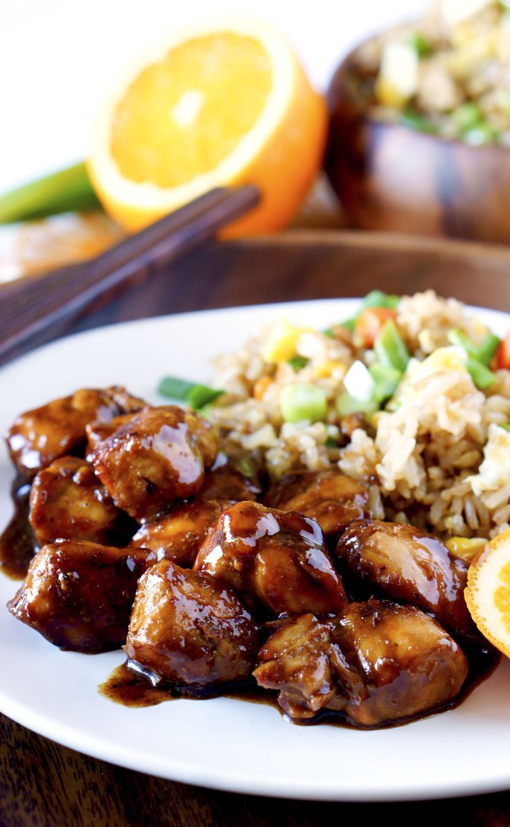 Orange chicken is a chinese take out classic but it isnt exactly orange chicken is a chinese take out classic but it isnt exactly the healthiest for you this orange chicken recipe takes the comfort food classi forumfinder Gallery
