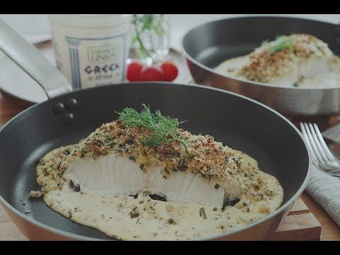 Yogurt baked fish with pine nut herbed crumbs the meatmen your your goto for easy delicious local recipes forumfinder Images