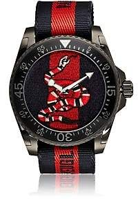 4e451590026 Gucci Men s Dive Watch - Navy