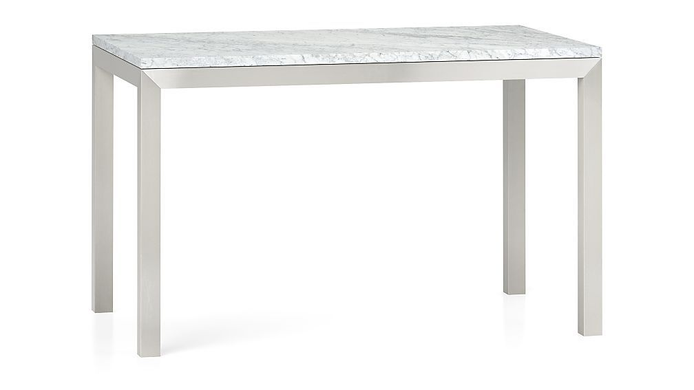 Stainless Steel Base 48x28 Dining Table