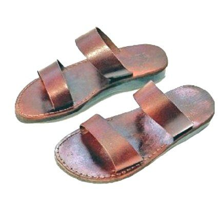7433f10dfca90 Unisex Adults Children Genuine Leather Biblical Sandals   Flip flops (Jesus  - Yashua) · Holy LandShoes ...