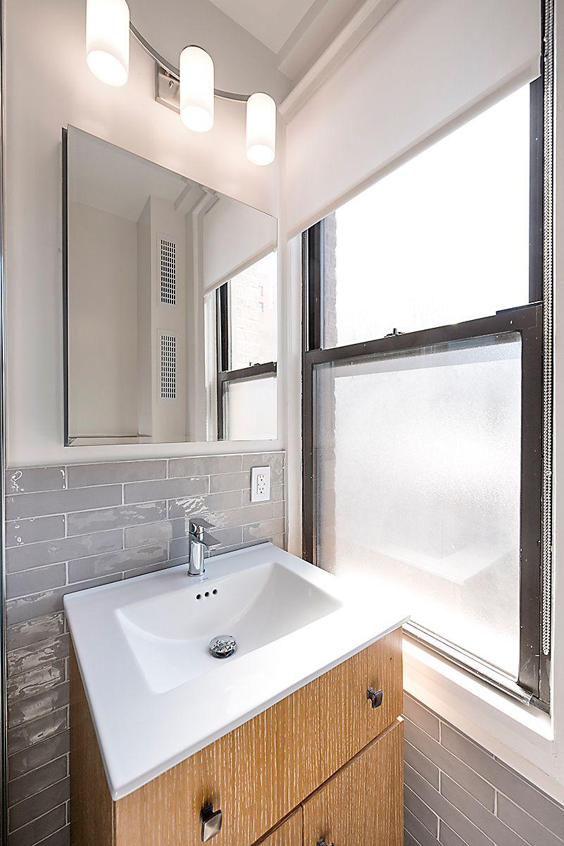 321 West 55th Street Apartment Renovation Master Bathroom