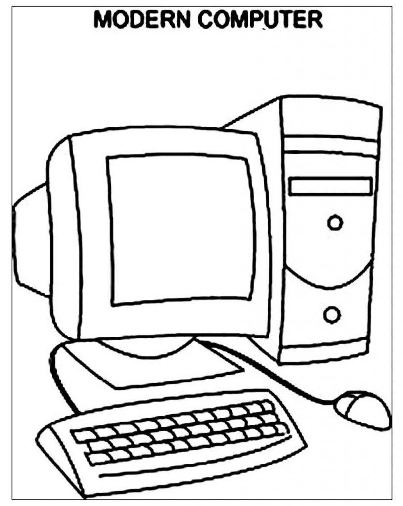 Disegni Da Colorare Sul Computer Per Bambini Fredrotgans