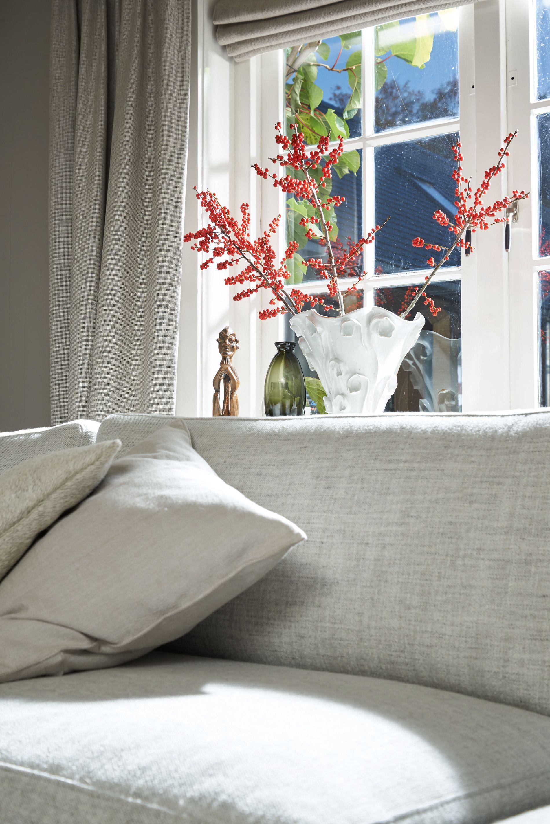 Landhausstil im modernem Wohnzimmer auf Laminatboden Eiche sand 6435 Melango LD300 20 Mehr unter