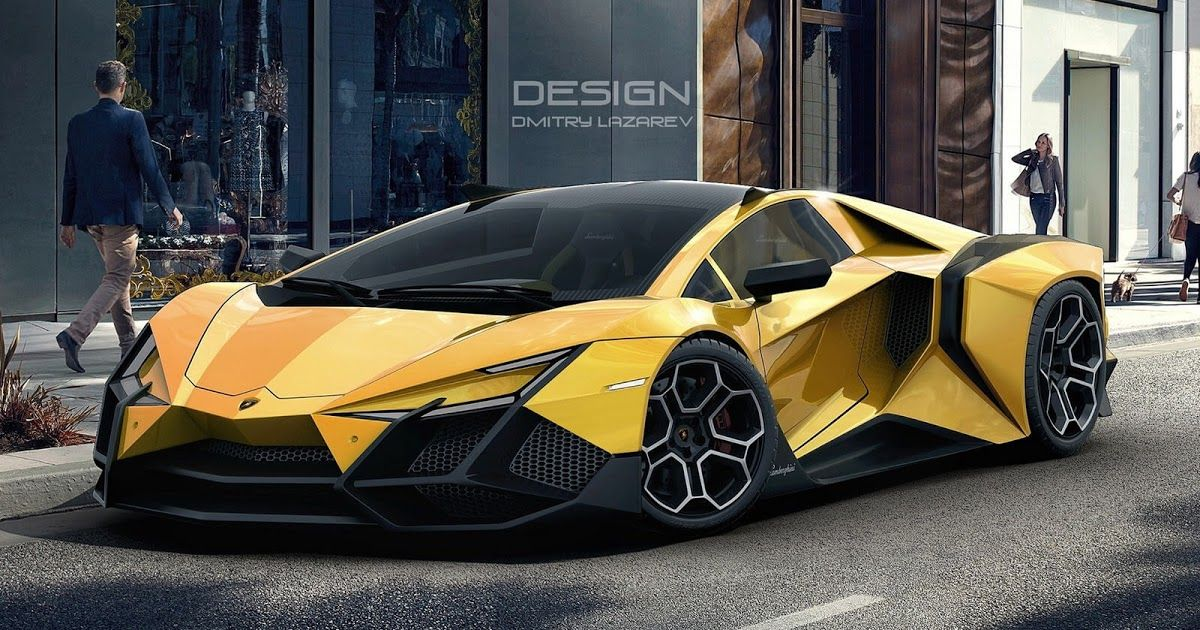 The Lamborghini Forsennato Would Be A Proper Raging Bull If It Was Real Carscoops Lamborghini Models Super Cars Sports Cars Lamborghini