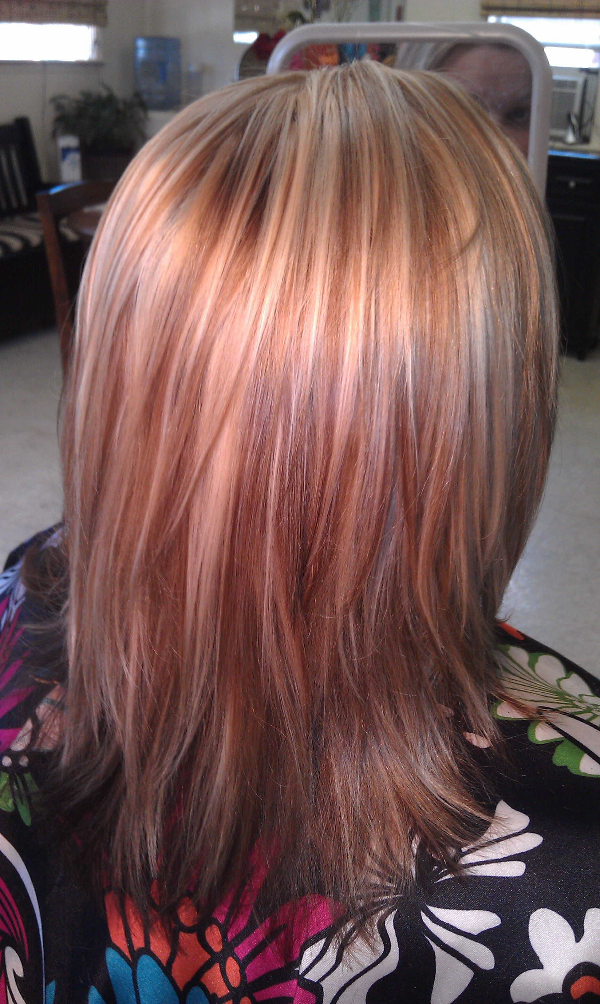 Highlight Hairstyles Triple Color Highlighttishadding 3 Colors Give The Most