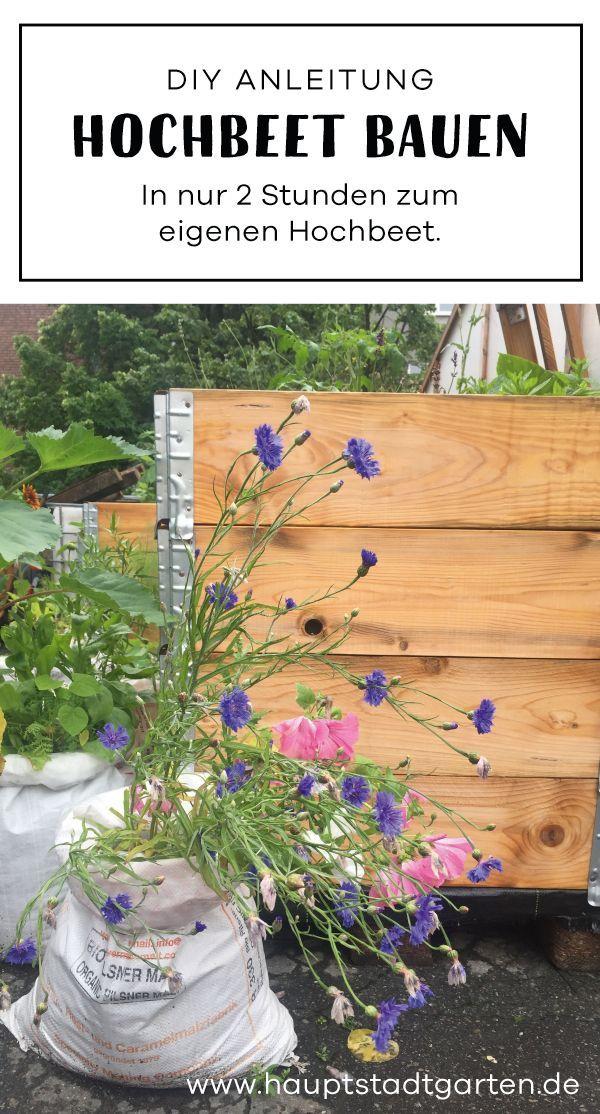 In 2 Stunden Ein Hochbeet Bauen Und Befullen Gartenblog Hauptstadtgarten Hochbeet Hochbeet Bauen Hochbeet Bauen Und Befullen