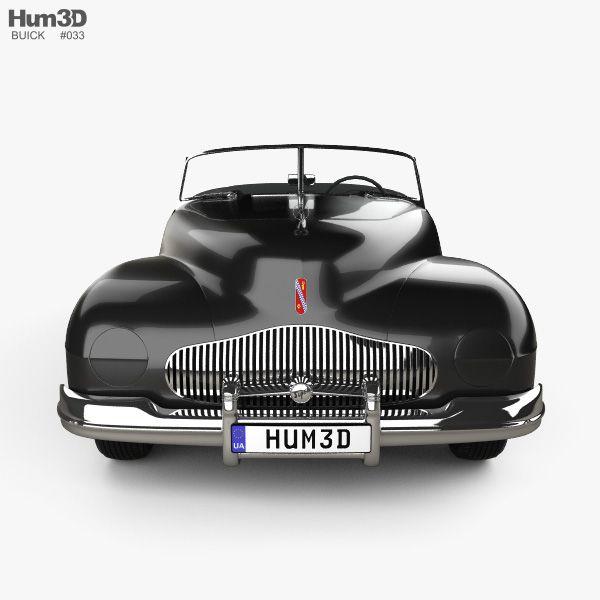 3D Model Of Buick Y-Job 1938