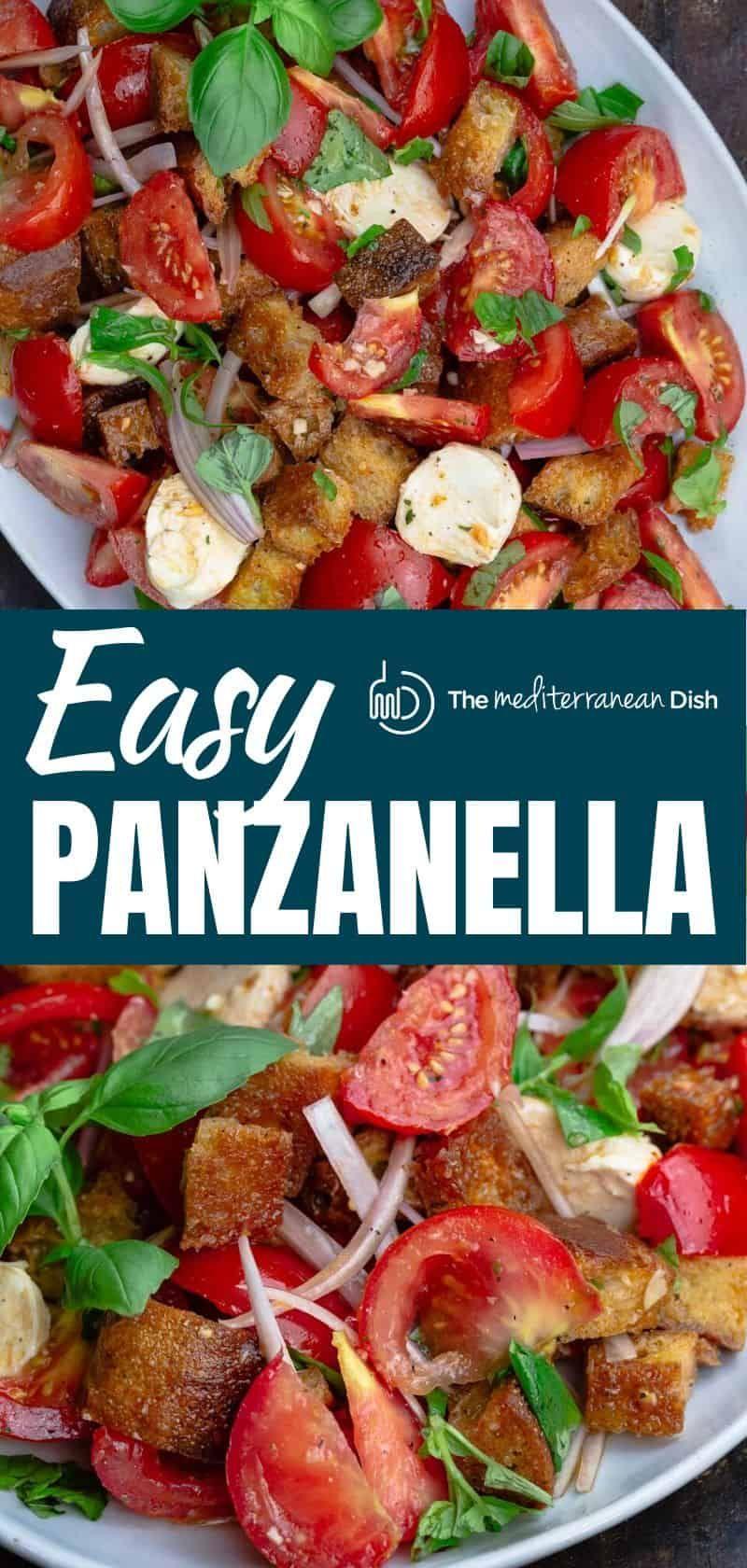 Photo of Simple Tomato Panzanella Salad