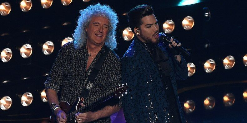 Oscars 2019 Watch Queen S Opening Performance Adam Lambert Hollywood We Are The Champions