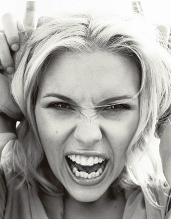 Scarlett Johansson I love how she doesnt have perfect teeth it adds ...