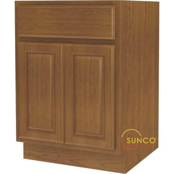 Best Sunco B24Rt B 2 Door Wide Base Cabinet 24 Kitchen Base 640 x 480