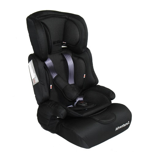 Adventure 3 in 1 Harnessed Booster Seat (black) Best