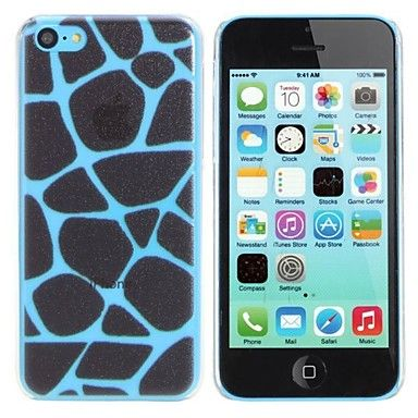Elonbo Leopard Print Design Style Hard Back Case Cover for iPhone 5C - USD $ 2.99